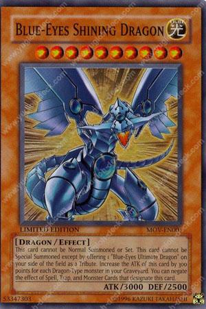 Yu Gi Oh Blue Eyes Shining Dragon | Car Interior Design