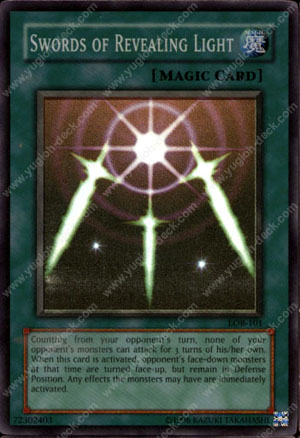 Yugioh Wall Of Revealing Light Ruling : Yu-Gi-Oh Card
